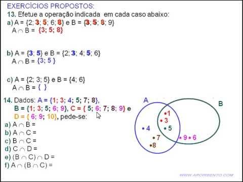 21 conjuntos exerccios 13 e 14 interseco de conjuntos venn youtube 21 conjuntos exerccios 13 e 14 interseco de conjuntos venn ccuart Choice Image