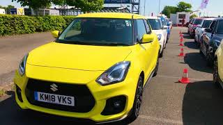 New Suzuki Swift Sport dealer launch day part 3 - The colour options Video
