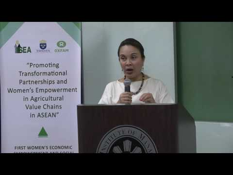 LOREN LEGARDA: First Women's Economic Empowerment and Engagement Conference in Asia