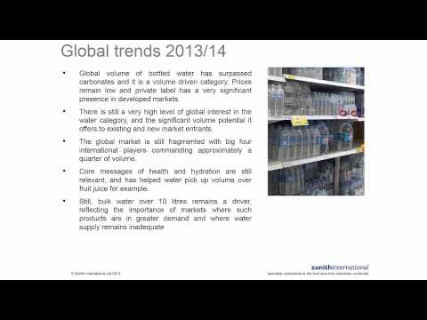 2014 Global Bottled Water Congress and market trends