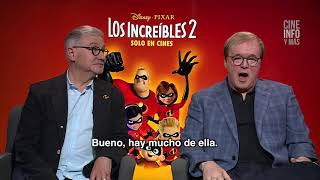 ENTREVISTA A BRAD BIRD, DIRECTOR Y GUIONISTA DE LOS INCREIBLES 2 Y A JOHN WALKER PRODUCTOR