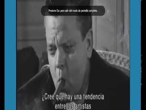 Orson Welles - Entrevista en Paris 1960 ( Subtitulado )