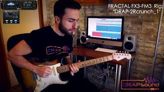 "Preset: ""DRAP-2Rcrunch_1"" for FRACTAL FX3-FM3 (isolated track)"