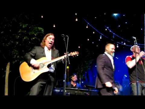Molly Malone/Jack Stewart, Russell Crowe/Alan Doyle Indoor Garden Party Full Cast, NYC