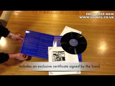 The Crossing Limited Edition Vinyl Unpack