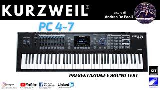 Introduzione a KURZWEIL PC4-7 con ANDREA DE PAOLI - Generalsound.it
