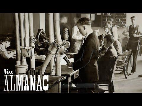 The pneumatic tube's strange 150-year journey