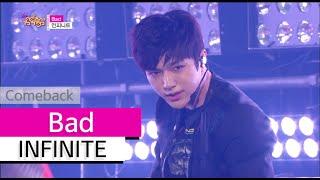 Download Video [Comeback Stage] INFINITE - Bad, 인피니트 - 베드, Show Music core 20150718 MP3 3GP MP4