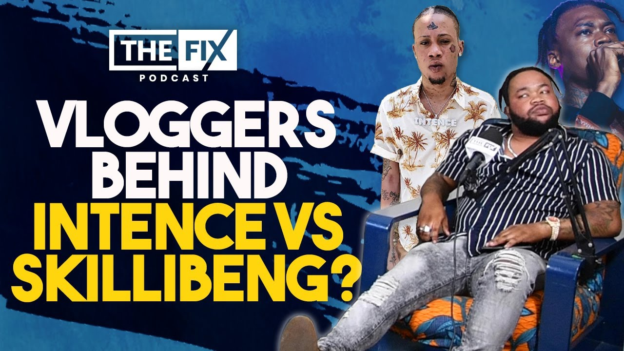 Are Vloggers Instigating Intence VS Skillibeng? (ft. Terro Don) || The Fix Podcast