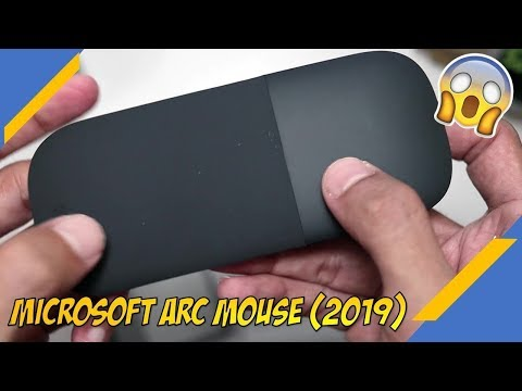 Microsoft Arc Mouse (2019) Unboxing - Easy To Carry Mouse From Microsoft