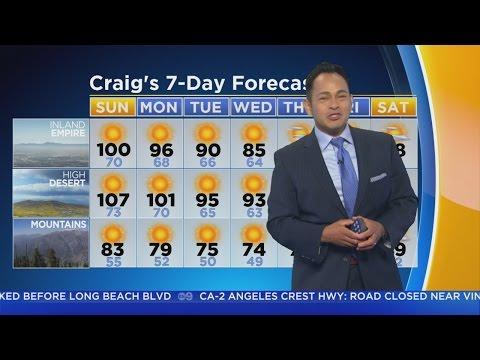 Craig Herrera's Weather Forecast (June 25)