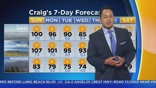 Craig Herrera's Weather Forecast (June 25)