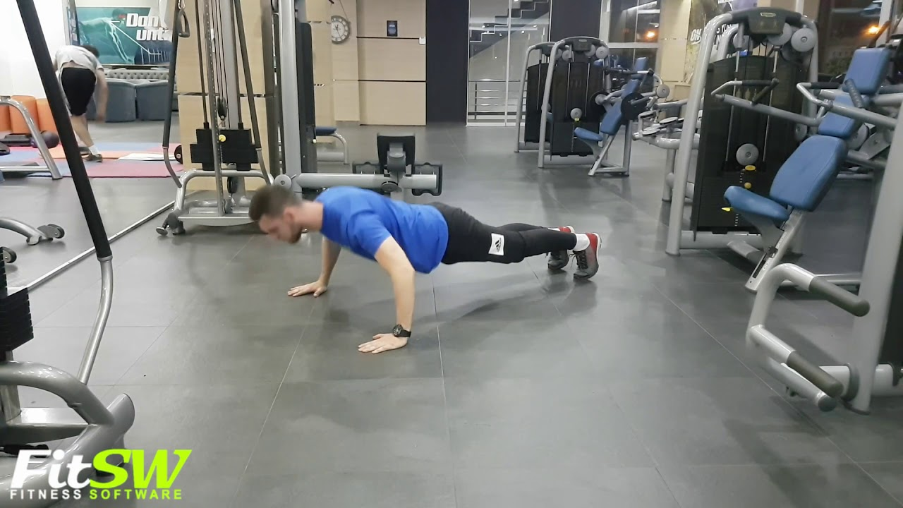 Wide Pushup Chest Exercise Demo YouTube