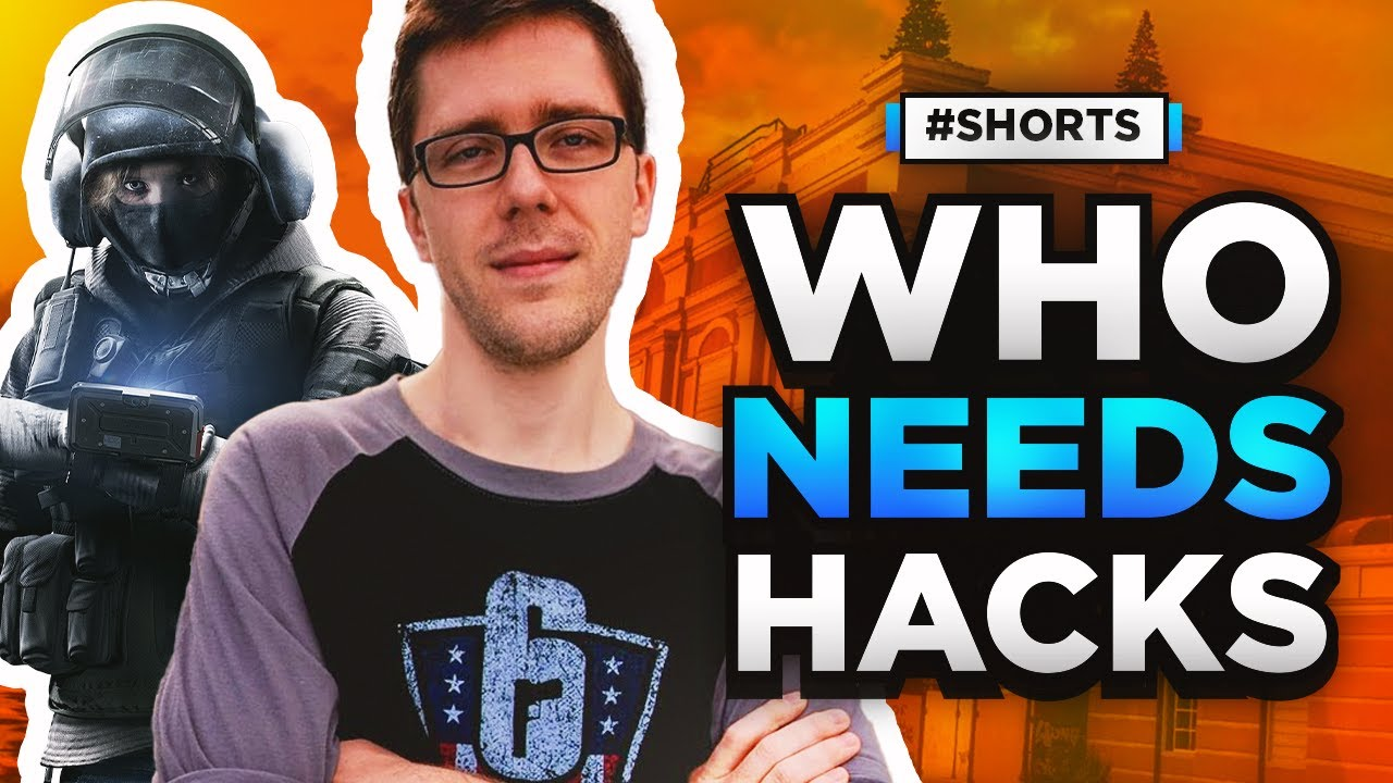 TSM MacieJay Doesn't Need Wall Hacks | Rainbow Six Siege #Shorts