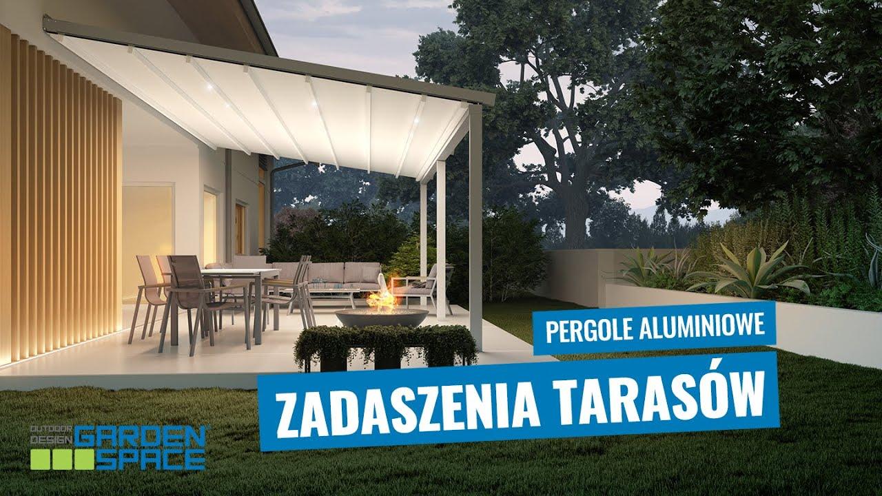 Zadaszenie Tarasowe Ombra Pergole Aluminiowe W Ofercie Garden Space