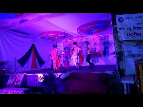 Aadivasi Group Dance Nss Camp Mandal.dr.ambedkar College Chandrapur