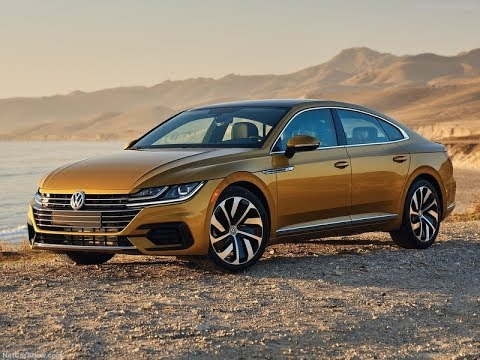 Volkswagen Arteon SEL R-Line - Sport Sedan/Coupe Driven - Orange Metallic (2019)