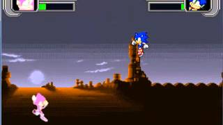 Mugen - Espio vs Sonic