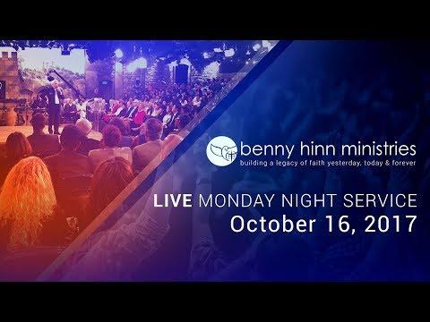 Benny Hinn LIVE Monday Night Service, October 16th, 2017