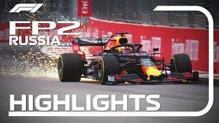 2019 Russian Grand Prix: FP2 Highlights