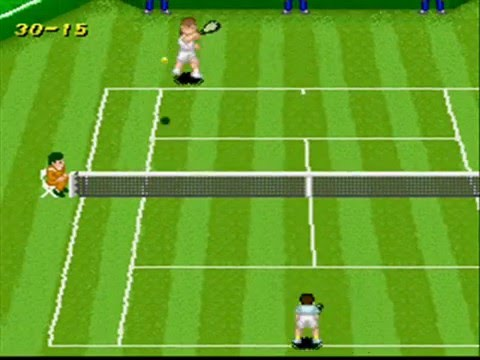 SNESOT Super Tennis Online Tour - GW vs Retro - Wimbledon 2012 Part 2/2