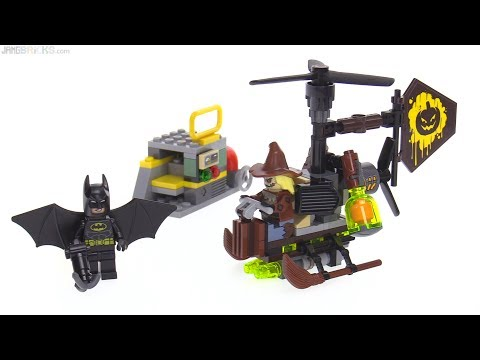 LEGO Batman Movie Scarecrow Fearful Face-off review! 70913