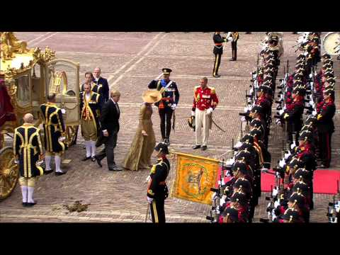 Militair ceremonieel Prinsjesdag 2013