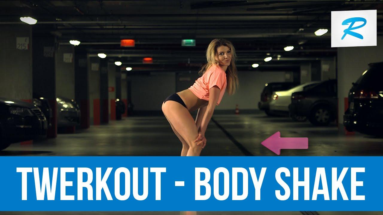 d00e2157b385 NAUKA TWERKOWANIA Odc.2 Jak zrobić body shake  - YouTube