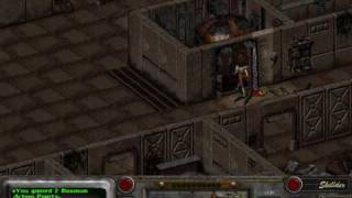 Fallout 2 - part 183 - Vault 15 - gameplay - hardest difficulty
