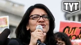 Rashida Tlaib's INCREDIBLE Response To Israel Ban
