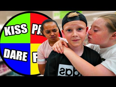 SPIN The MYSTERY WHEEL & DOING WHATEVER IT LANDS ON Challenge!!