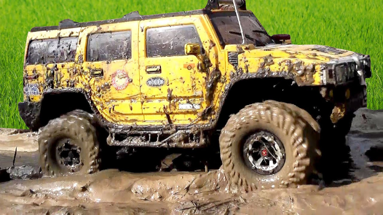 Scale Model OFF Road MUD & Water barrier Jeep Hummer Defender