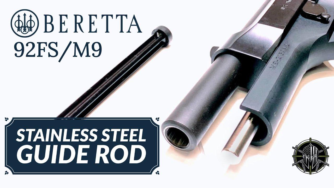 Beretta 92FS Stainless Steel Guide Rod - Beretta 92FS Accessories - Beretta  92FS Upgrades