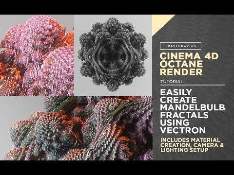 Cinema 4D And Octane Render - Easily Create Mandelbulb