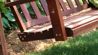 Richmond Porch Swing - Product Review Video