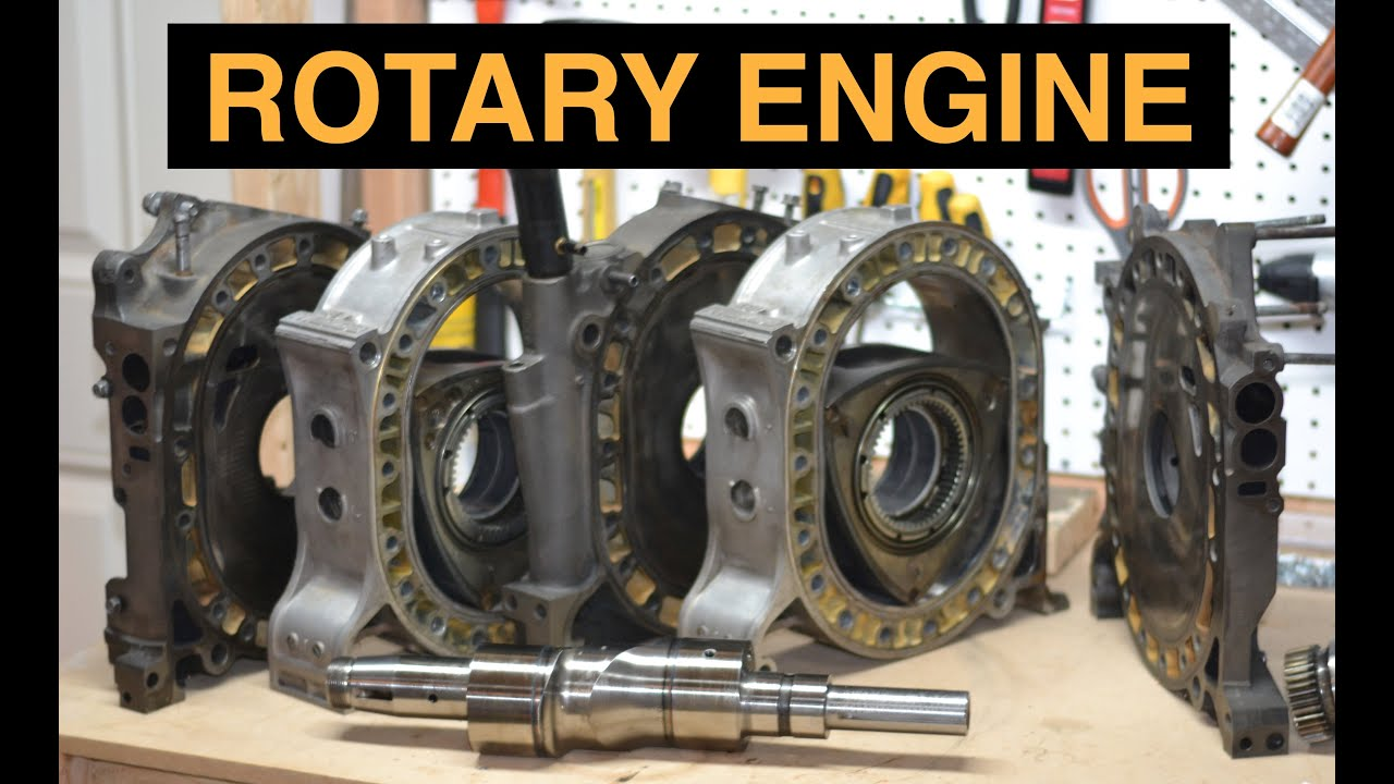 How Rotary Engines Work Mazda RX 7 Wankel Detailed