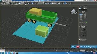 modelowanie przyczepy rolniczej w 3ds MAX