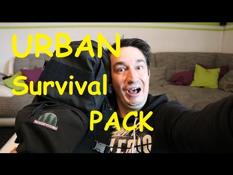 My URBAN SURVIVAL Pack - A complete GEAR list