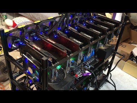 GPU Bios Flash Test Bench - Crypto Mining Rig