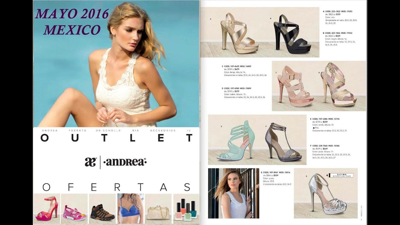 Outlet Andrea Mayo 2016 Youtube