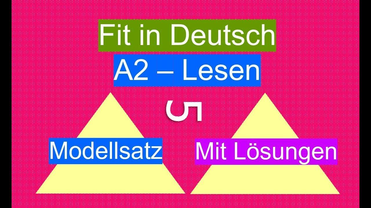 Exam Deutsch