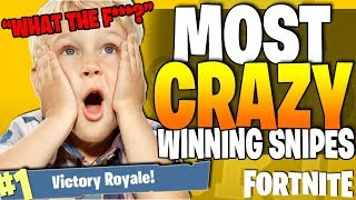 *MUST SEE* - Best Fortnite GAME WINNING SNIPER EVER!! - Fortnite BR Top 5 Plays / Episode 13