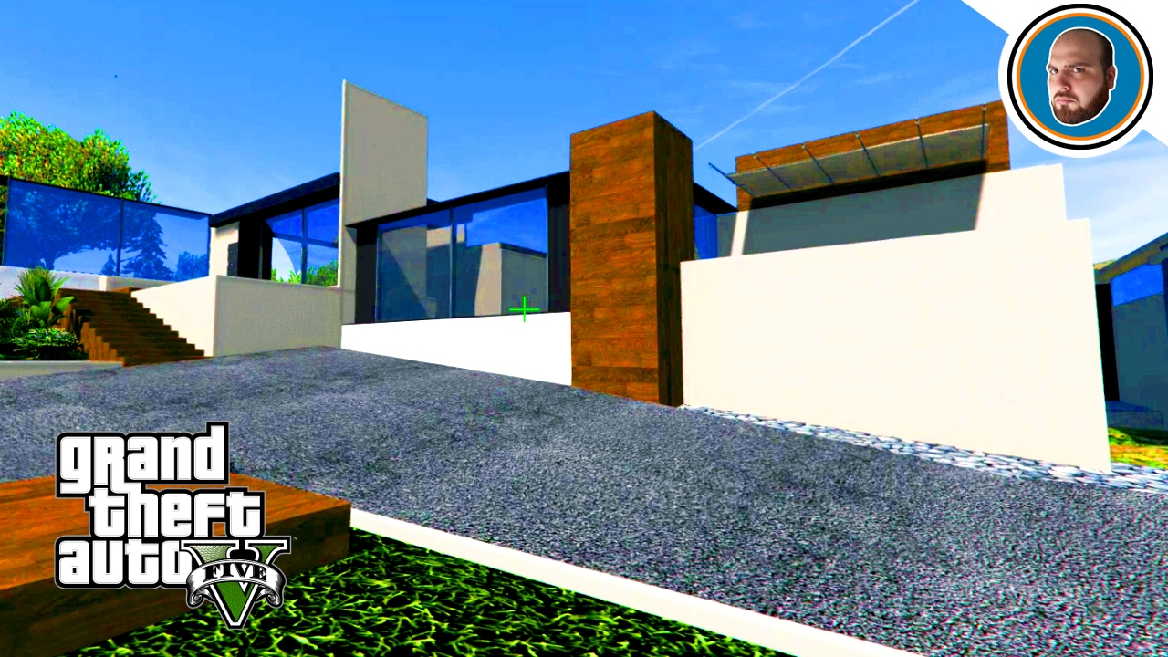 Gta 5 mod costruire una villa moderna 4 youtube for Costruire una villa