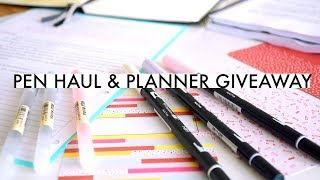 SCHOOL SUPPLIES MINI-HAUL » Pens & New Planner