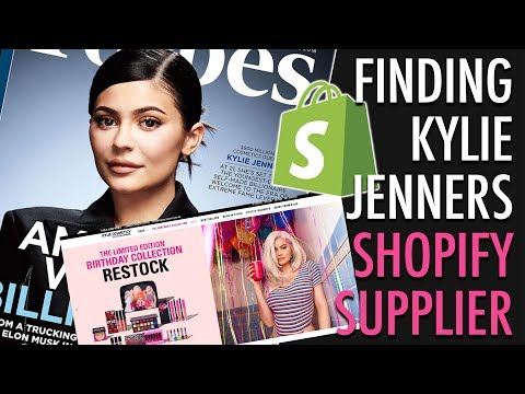 Finding Kylie Jenners Shopify Supplier + Giving You A $1 Million Business Idea