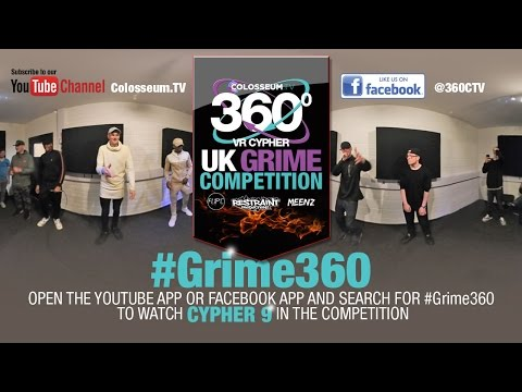 UK GRIME COMPETITION - 360º VR CYPHER 9 - BRISTOL - TGA, VCD