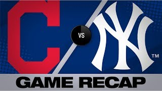 Gardner, Yankees hold off Tribe for 3-2 win | Indians-Yankees Game Highlights 8/16/19