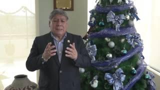 Tema: Saludo de navidad y año nuevo del Rector de la UNMSM