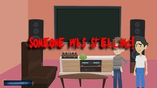 Someone was stealing- Scary Story! (Animated in Hindi) |IamRocker|