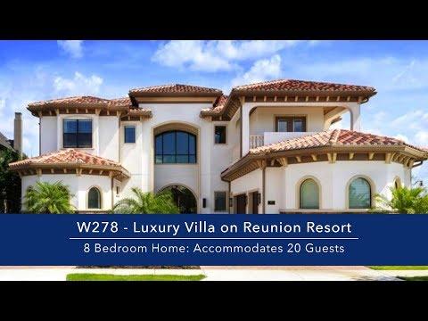 8 Bedroom Luxury Vacation Rental on Reunion Resort